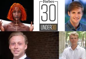 'Forbes 30 under 30 Europe' de 4 Belgen op de lijst van 2021